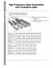高性能低損失同軸ケーブルアッセンブリー